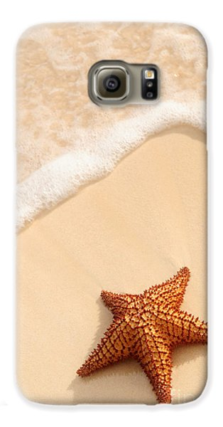 Starfish And Ocean Wave Galaxy S6 Case