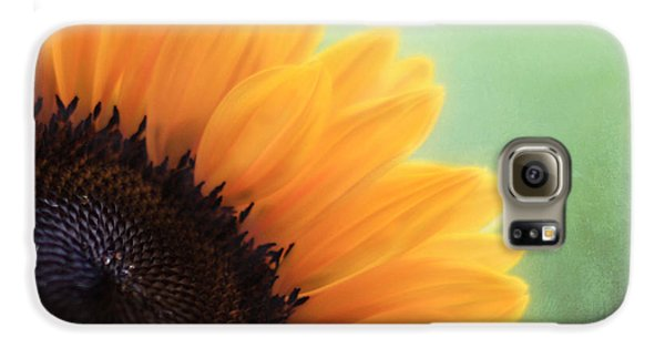 Staring Into The Sun Galaxy S6 Case by Amy Tyler