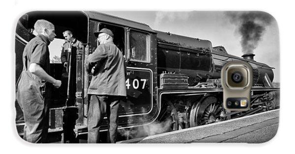 Steam Locomotive Galaxy S6 Case