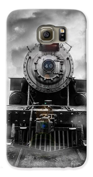 Train Galaxy S6 Case - Steam Train Dream by Edward Fielding