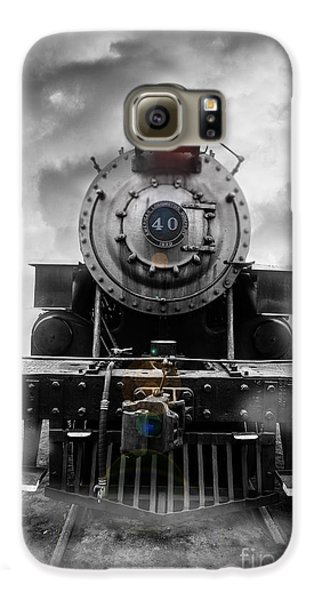 Steam Train Dream Galaxy S6 Case by Edward Fielding