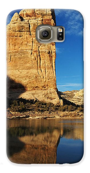 Steamboat Rock In Dinosaur National Monument Galaxy S6 Case