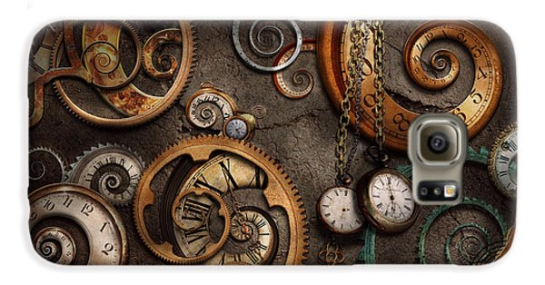 Steampunk - Abstract - Time Is Complicated Galaxy S6 Case
