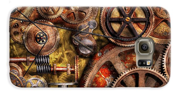 Steampunk - Gears - Inner Workings Galaxy S6 Case