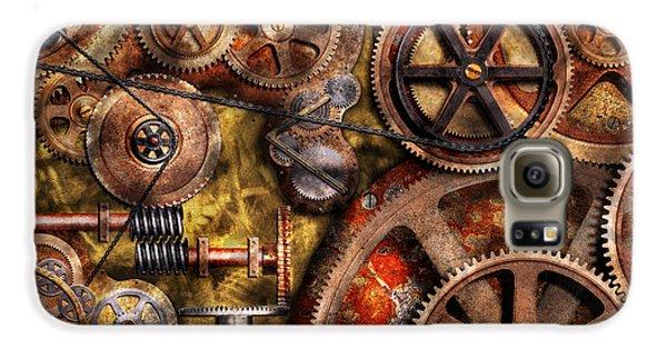 Steampunk - Gears - Inner Workings Galaxy S6 Case