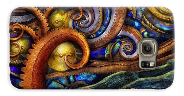 Steampunk - Starry Night Galaxy S6 Case