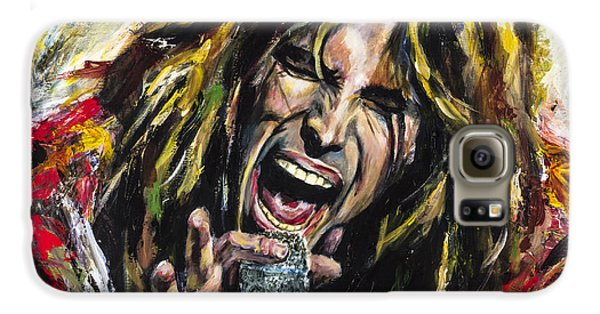 Musicians Galaxy S6 Case - Steven Tyler by Mark Courage