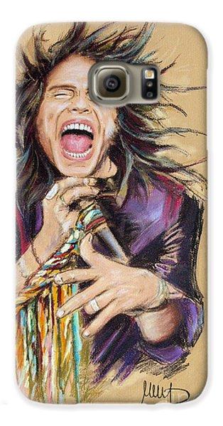 Steven Tyler Galaxy S6 Case by Melanie D