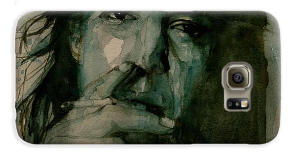 Blues Legend Galaxy S6 Case - Stevie Ray Vaughan by Paul Lovering
