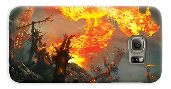 Wizard Galaxy S6 Case - Stoke The Flames by Ryan Barger