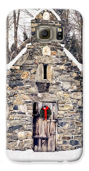 Stone Chapel In The Woods Trapp Family Lodge Stowe Vermont Galaxy S6 Case