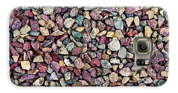 Stone Pebbles  Galaxy S6 Case by Ulrich Schade