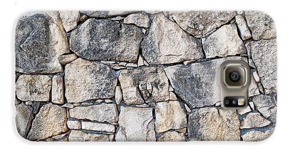 Stone Wall Texture Galaxy S6 Case by Antony McAulay