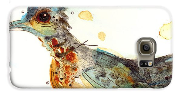 Stop And Smell What? Galaxy S6 Case by Dawn Derman
