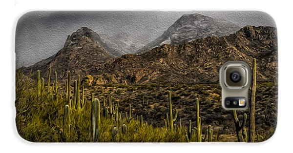 Storm Over Catalinas Aso Galaxy S6 Case by Mark Myhaver