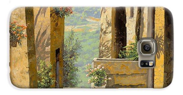 Landscape Galaxy S6 Case - stradina a St Paul de Vence by Guido Borelli