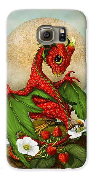 Dragon Galaxy S6 Case - Strawberry Dragon by Stanley Morrison