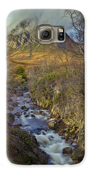 Stream Below Buachaille Etive Mor Galaxy S6 Case by Gary Eason