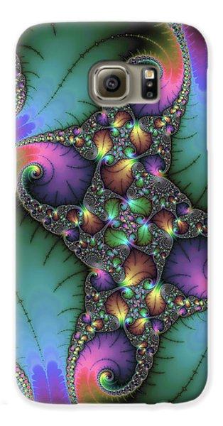 Stunning Mandelbrot Fractal Galaxy S6 Case by Matthias Hauser