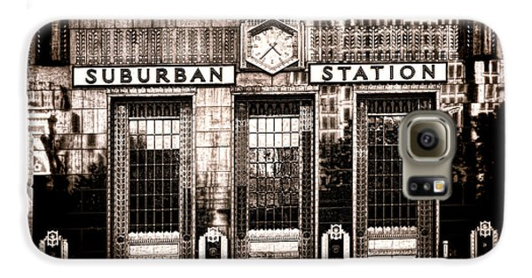 Suburban Station Galaxy S6 Case by Olivier Le Queinec