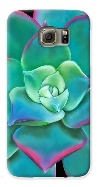 Succulent Aeonium Kiwi Galaxy S6 Case