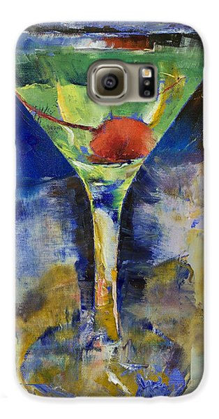 Summer Breeze Martini Galaxy S6 Case by Michael Creese