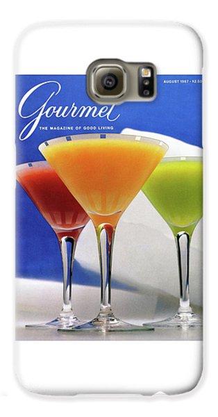 Summer Cocktails Galaxy S6 Case