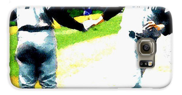 Summer Of The Gods  Iv 1961 Mickey Mantle Galaxy S6 Case