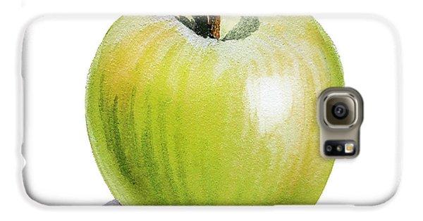 Sun Kissed Green Apple Galaxy S6 Case by Irina Sztukowski