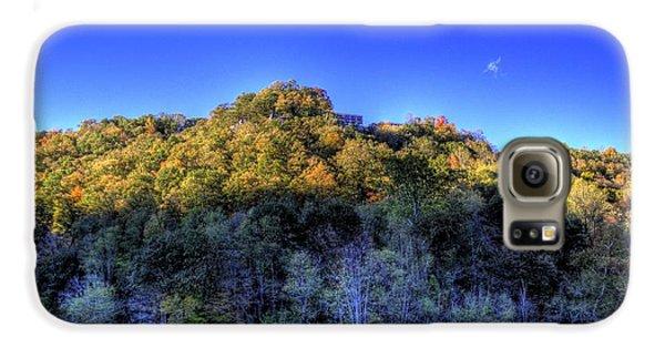 Sun On Autumn Trees Galaxy S6 Case