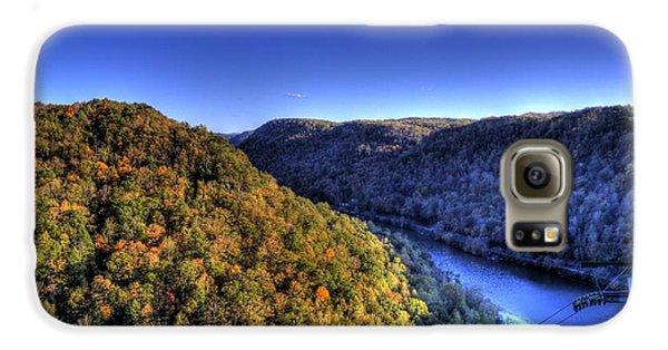 Sun Setting On Fall Hills Galaxy S6 Case