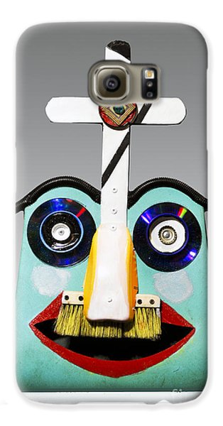 Sunday Mask Galaxy S6 Case by Bill Thomson