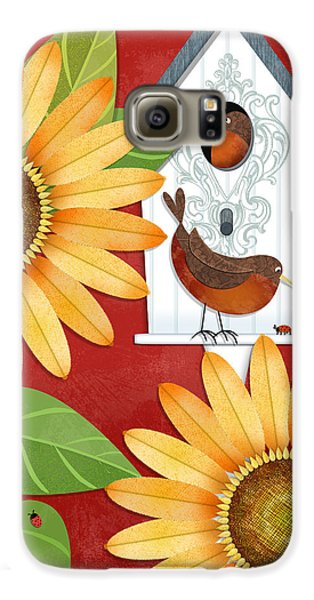 Sunflower Surprise Galaxy S6 Case