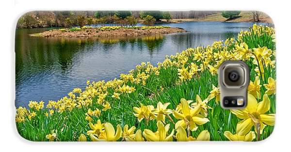 Sunny Daffodil Galaxy S6 Case