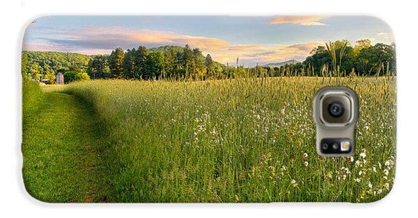 Sunny Valley Sunrise Galaxy S6 Case