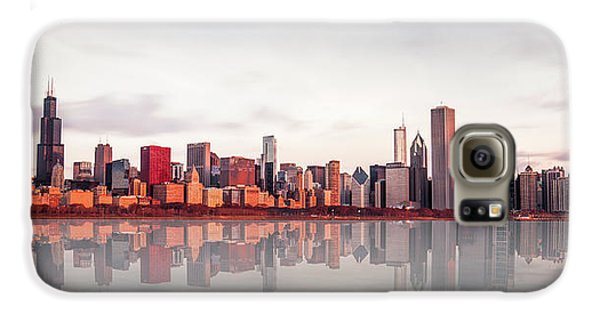 Sears Tower Galaxy S6 Case - Sunrise At Chicago by Marcin Kopczynski