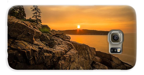 Sunrise Over Otter Cove Galaxy S6 Case