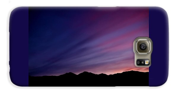 Sunrise Over The Mountains Galaxy S6 Case