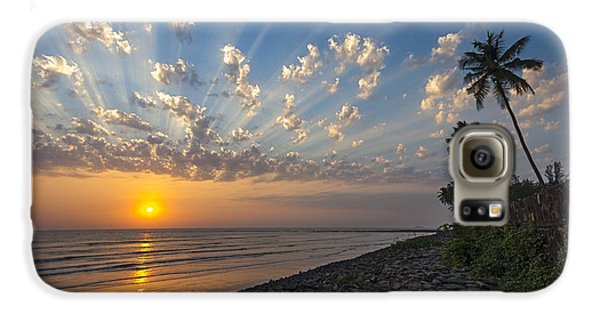 Sunset At Alibag, Alibag, 2007 Galaxy S6 Case