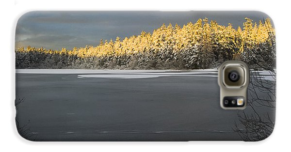 Galaxy S6 Case featuring the photograph Sunset At Cranberry Lake Anacortes by Yulia Kazansky