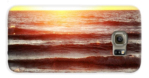 Sunset Beach Galaxy S6 Case