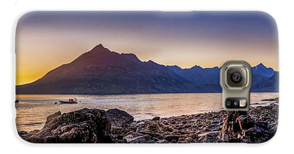 Sunset Black Cuillin Isle Of Skye Scotland Galaxy S6 Case
