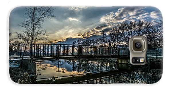 Sunset Bridge 2 Galaxy S6 Case