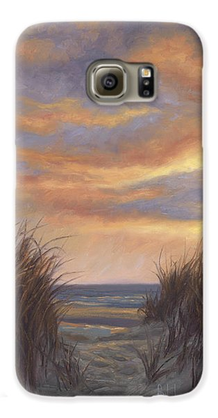 Sunset By The Beach Galaxy S6 Case