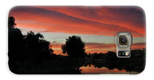 Sunset Gilbert Arizona 2004 Galaxy S6 Case