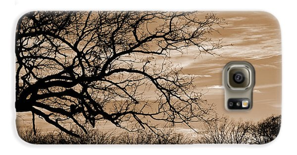 Sunset In Sepia C  Galaxy S6 Case