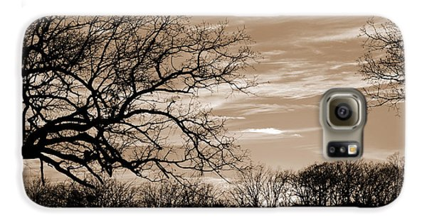 Sunset Is Sepia  Galaxy S6 Case