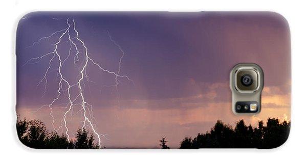 Sunset Lightning Galaxy S6 Case