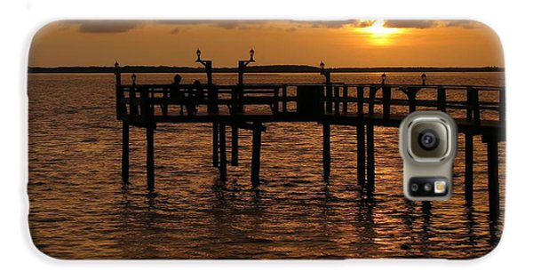 Sunset On The Dock Galaxy S6 Case