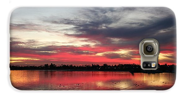 Sunset Over Mission Bay  Galaxy S6 Case